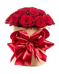 Red Rose Gift Box. Volgograd